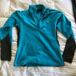 Turquoise EMS women's fleece